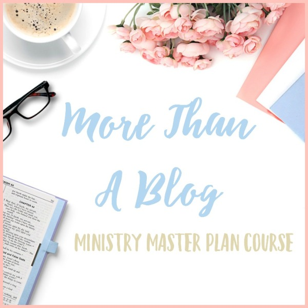 How to blog and do ministry successfully.