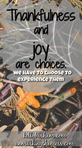 How do I find thankfulness and joy when I'm running on empty?The holidays can be tough. Especially when you are struggling.