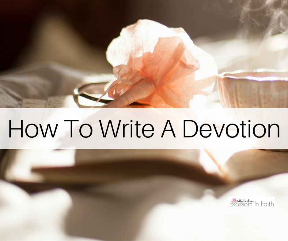 write devotional essay Daily devotionals about daniel, a new daily devotion from the bible everyday.